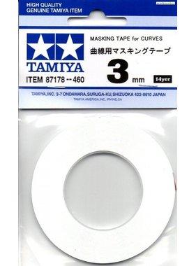 TAMIYA Tamiya 3mm Masking Tape for Curves 87178