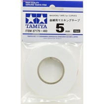 TAMIYA 87179 Masking Tape For Curves 5mm - 20m roll