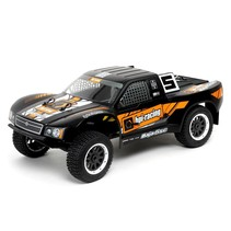 HPI BAJA 5SC SHORT COURSE TRUCK 1/5 SCALE MATTE BLACK NOW INCLUDES 240V RX BATTERY CHARGER