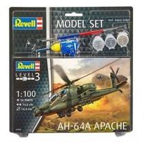 REVELL 64985 1/100 AH-64A APACHE MODEL SET