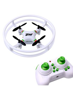 ACE IMPORTS Dwi Dowellin Indoor Drone For Kids Beginners Mini RC Quadcopter 2.4Ghz 4CH 6-Axis Nano Drones RTF