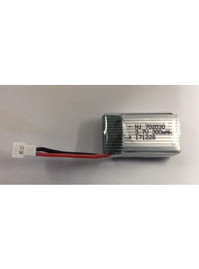 CHINA ELECTRONICS ACE 3.7V 1S 300 MAH LIPO BATTERY  WITH MICRO PLUG