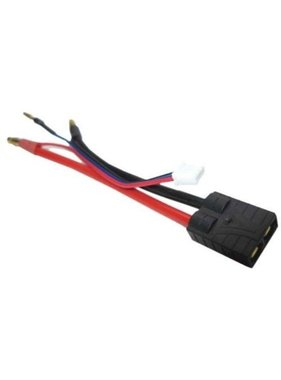 ACE IMPORTS ACE TRAXXAS BATTERY LEAD WITH 4MM BULLETS AND BALANCE LEAD