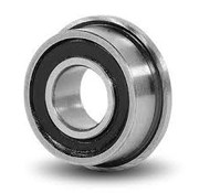 BEARINGS FLANGED BEARING 7 x 4 x 2.5mm (2-RS ) <br />RUBBER SEALED MF74 2RS