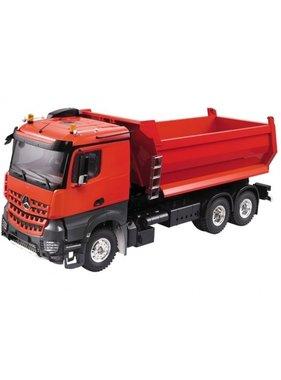 HERCULES HOBBY HERCULES  1/14 Heavy Duty Tri-Axle Dumper Tipper Semi Trailer Truck (Plastic + Aluminum) SOLD AS KIT