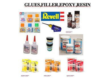 GLUES,FILLER,EPOXY,RESIN