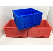 ACE 3D PRINT WORKS ACE 3D PRINTED STACKABLE FRUIT PALLET BOX WITH DUAL FORK SLOTS