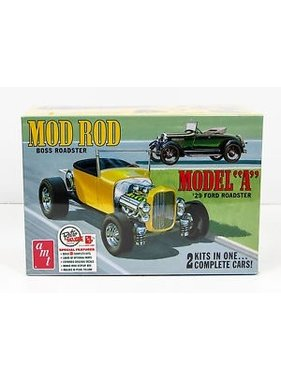AMT AMT MOD ROD BOSS ROADSTER 29 MODEL A FORD ROADSTER