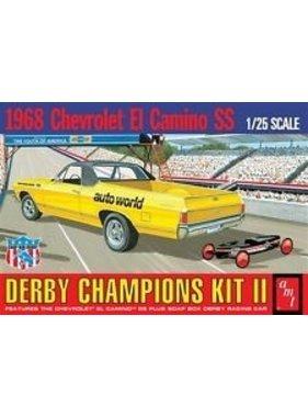 AMT AMT 1968 CHEVROLET EL CAMINO SS 1/25 DERBY CHAMPIONS KIT II