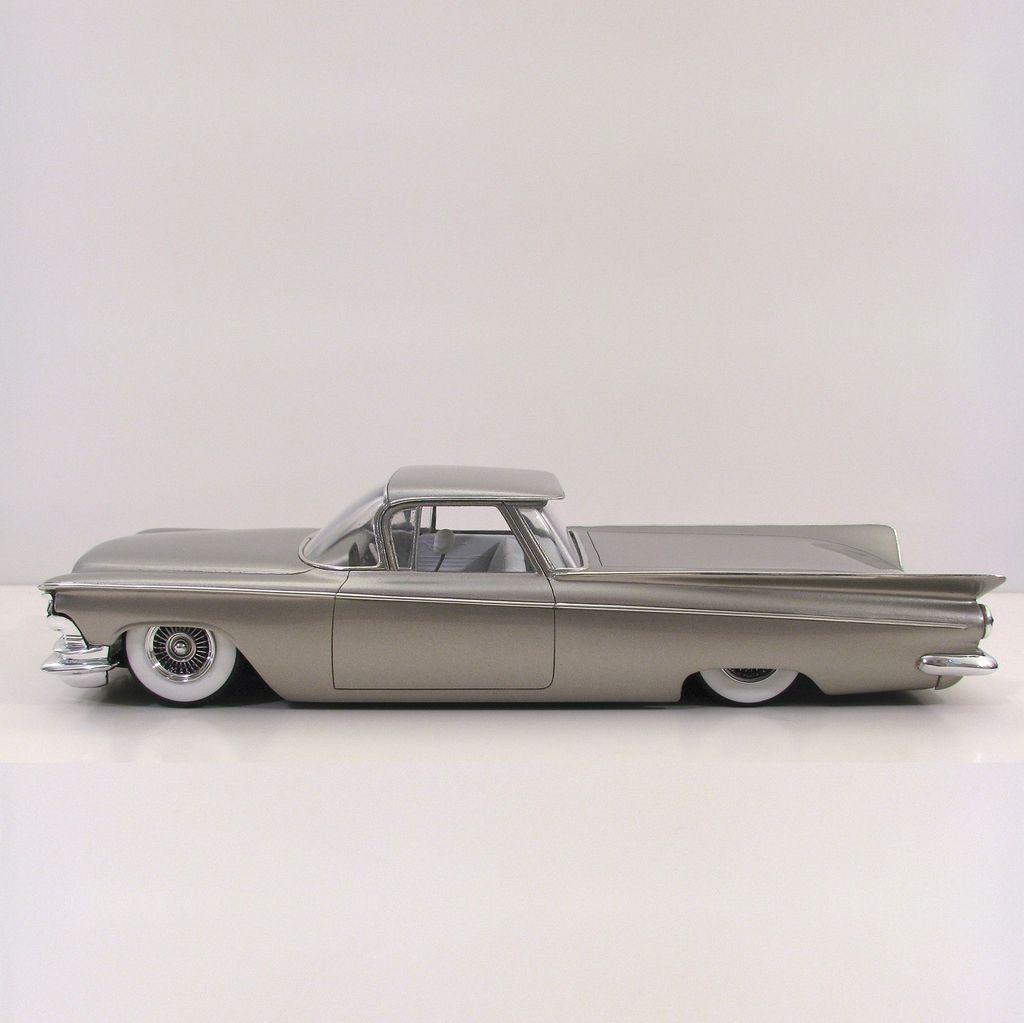 Jimmy Flintstone Jimmy Flintstone 1959 Buick Custom Truck Quot Elvictamino Quot Resin Body 269