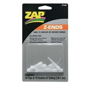 ZAP Zap Adhesives Z-Ends Nozzle (10) with 15 inches of micro-tubing