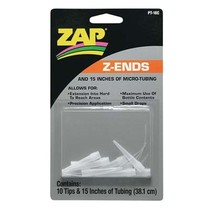 Zap Adhesives Z-Ends Nozzle (10) with 15 inches of micro-tubing
