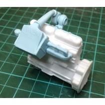 AUSLOWE IIntercooler attachment suit Mack  R Model Engine (cool Power) E15