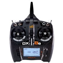 Spektrum DX8e 8-Channel Transmitter, 2.4GHz, DSM-X