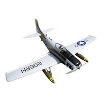Seagull Model Skyraider Warbird RC Plane, 10cc ARF, Bee Scheme
