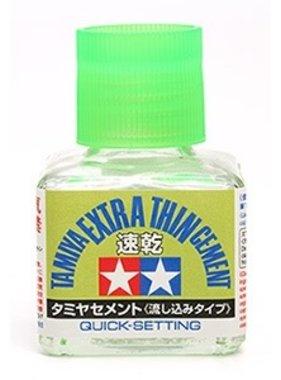 TAMIYA Tamiya Extra Thin Cement (Quick-Setting)