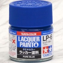 TAMIYA LACQUER PAINT PURE BLUE LP-6