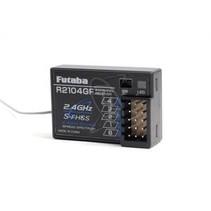 FUTABA S-FHSS Receiver R2104GF 2.4G for 2PL/3PL/4PL/4YF
