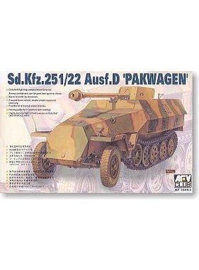 AFV AFC CLUB 1:35 Sd.Kfz.251/22 Ausf.D. Pakwagen KIT