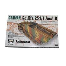 AFV CLUB 1/35 Sd.kfz.251/1 Ausf.d Schutzenpanzer WW II German