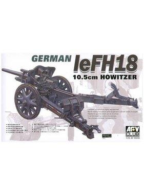 AFV Afv Club 1/35 Af35050 WW II German 105mm LeFH18 Howitzer
