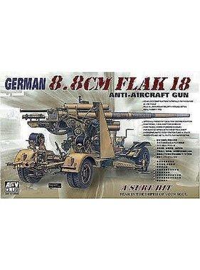 AFV Afv 1/35 Flak 18 - 88mm Gun GERMAN ANTI AIRCRAFT GUN