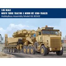 HobbyBoss 85502 1/35 US M1070 Truck Tractor & M1000 Transporter Semi-trailer