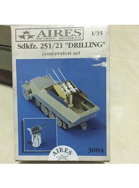 AIRES AIRES 1/35 Sd.Kfz. 251/21 Drilling CONVERSION FOR TAMIYA KIT