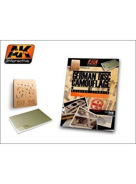 AK INTERACTIVE AK INTERACTIVE GERMAN DISC CAMOUFLAGE 1/48