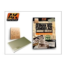 AK INTERACTIVE GERMAN DISC COMOUFLAGE SET 1/35 MASKING STENCIL