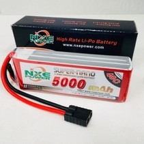 NXE POWER 11.1V 5000MAH 40C SOFT CASE WITH TRAXXAS PLUG