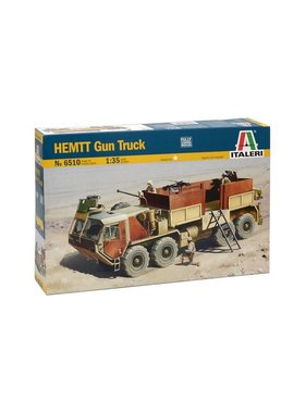 ITALERI Italeri 1/35 Hemtt Gun Truck Plastic Model Kit