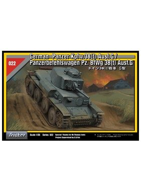 TRISTAR TRISTAR 1/35 Tristar Tristar German PzKpfw/PzBfWg 38 (t) Ausf G Tank