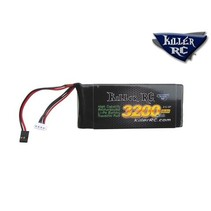 KILLER RC 3200mAh 11.1v TX LiPo Battery