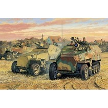 Dragon 6233 Sd.Kfz 251 Ausf. D (3 in 1) 1/35 scale plastic model kit