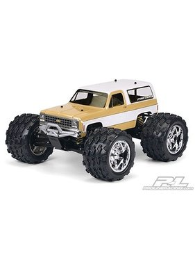 PROLINE PROLINE 1980 Chevy Blazer Clear Body for REVO 2.5 & 1:10 Crawler