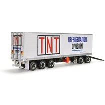 Highway Replicas 12992 1:64  Freight Trailer with Dolly TNT Regfrigeration division limited to 1150 pce's