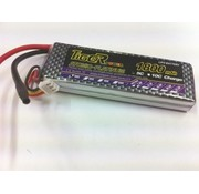 TIGER POWER LIPO 30C 7.4v 1800mah 14x34x110mm  123gr SOLD WITHEC-3 PLUG