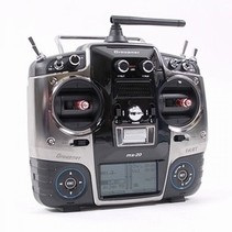 Graupner mx-20  radio set 2.4 ghz HOTT  with 1 x 12ch 1 x 6ch receiver usb adapter & Micro SD card