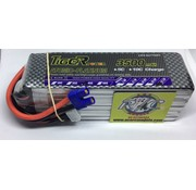LION POWER - TIGER POWER LIPOS LION POWER LIPO 45C 22.2V 3500mAh READ SAFETY WARNING BEFORE USE 42.5x140.0.2x46.8mm 560g SOLD WITH EC-3