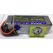 LION POWER LIPO 45C 22.2V 3500mAh READ SAFETY WARNING BEFORE USE 42.5x140.0.2x46.8mm 560g SOLD WITH EC-3