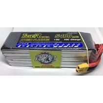 TIGER POWER LIPO 45C 18.5v 5400mah 45.0 x 148 x 47mm  659gr FITTED WITH XT60 PLUG