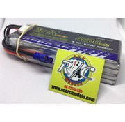 LION POWER - TIGER POWER LIPOS TIGER POWER LIPO 45C 14.8V 4500mAh READ SAFETY WARNING BEFORE USE 42.2 x 139.0 x 33.3mm 402g SOLD WITH EC-3  PLUG