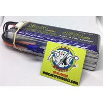TIGER POWER LIPO 45C 14.8V 4500mAh READ SAFETY WARNING BEFORE USE 42.2 x 139.0 x 33.3mm 402g SOLD WITH EC-3  PLUG