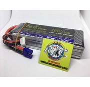LION POWER - TIGER POWER LIPOS LION POWER LIPO 45C 14.8V 3500mAh READ SAFETY WARNING BEFORE USE 42.8 x 136 x 31.20mm 391g SOLD WITH EC-3 PLUG