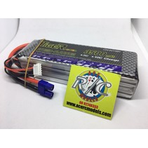 LION POWER LIPO 45C 14.8V 3500mAh READ SAFETY WARNING BEFORE USE 42.8 x 136 x 31.20mm 391g SOLD WITH EC-3 PLUG
