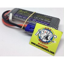 TIGER POWER LIPO 45C 14.8V 2800MAH 34 x 120 x 29mm 248gr FITTED WITH EC-3  PLUG