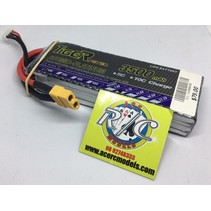 TIGER POWER LIPO 30C 11.1V 3500mAh READ SAFETY WARNING BEFORE USE 43.2x124.4x22.2mm 245g SOLD WITH XT60 PLUG