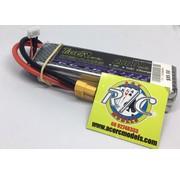 LION POWER - TIGER POWER LIPOS TIGER POWER LIPO 45C 11.1v 2800mah 25x34x115mm  215gr FITTED WITH XT60 PLUG