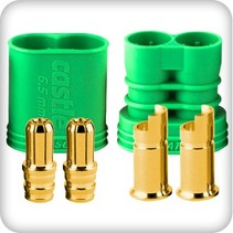 CASTLE CREATIONS 6.5MM POLARIZED BULLET CONECTOR